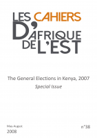 38 | The General Elections in Kenya, 2007