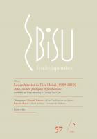 Les architectes de l'ère Heisei (1989-2019). Rôles, statuts, pratiques et productions