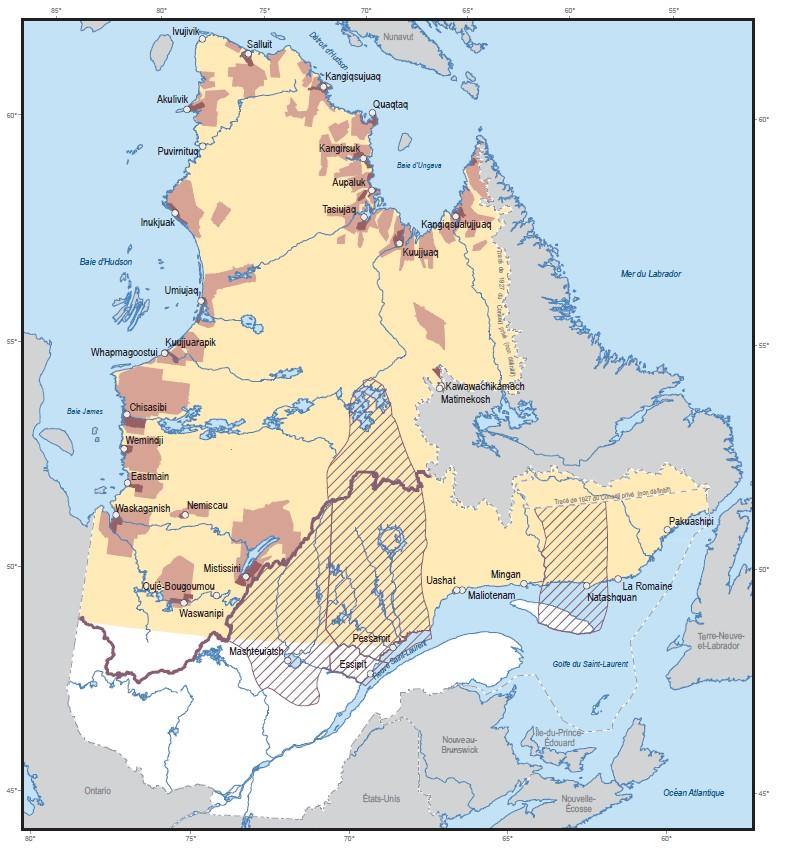 autochtones et le quebec les des premiers contacts au plan nord