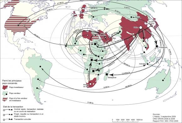 Carte Agriculture Afrique Du Sud.Les Investisseurs Etrangers A L Assaut Des Terres Agricoles