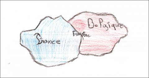 Illustration 14 - Dessin de Ludovic, 10 ans, CM2, Lille