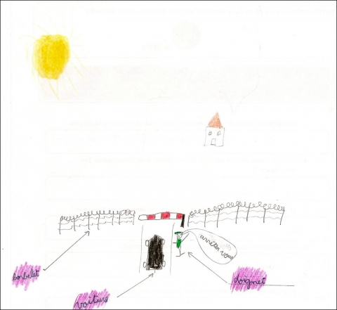 Illustration 8 – Dessin de Jordan, 9 ans, CM1, Tourcoing