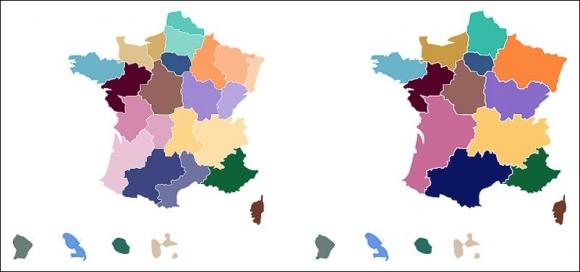 2080e3a39c5 Illustration 1 – les anciennes et les nouvelles régions françaises