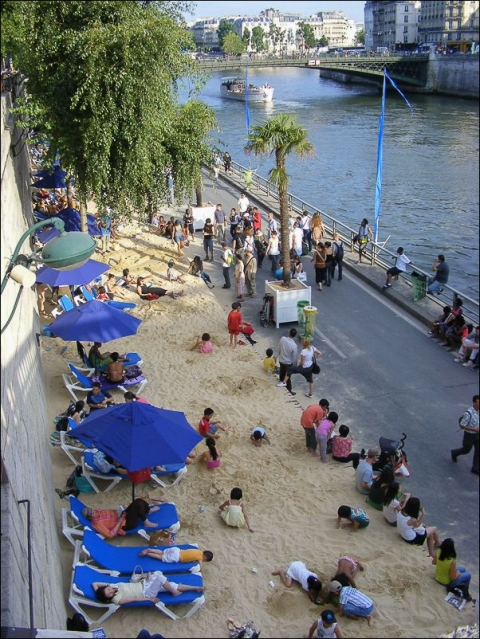 Illustration 5 - Paris-Plages, 2009