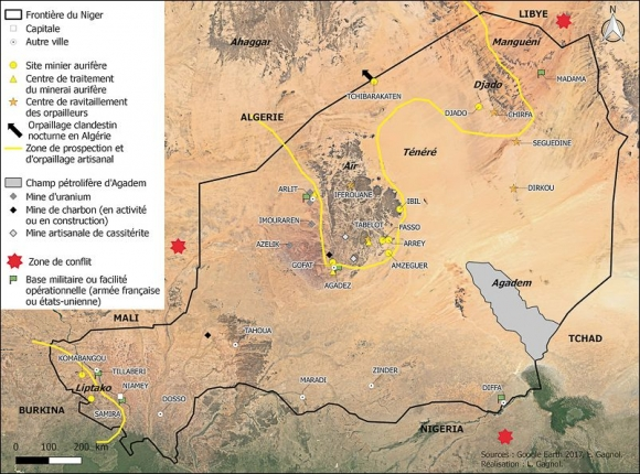 Ruées vers l'or au Sahara : l'orpaillage dans le désert du Ténéré ...