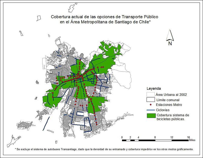 El Uso De La Bicicleta En Santiago De Chile Es Una Opcion
