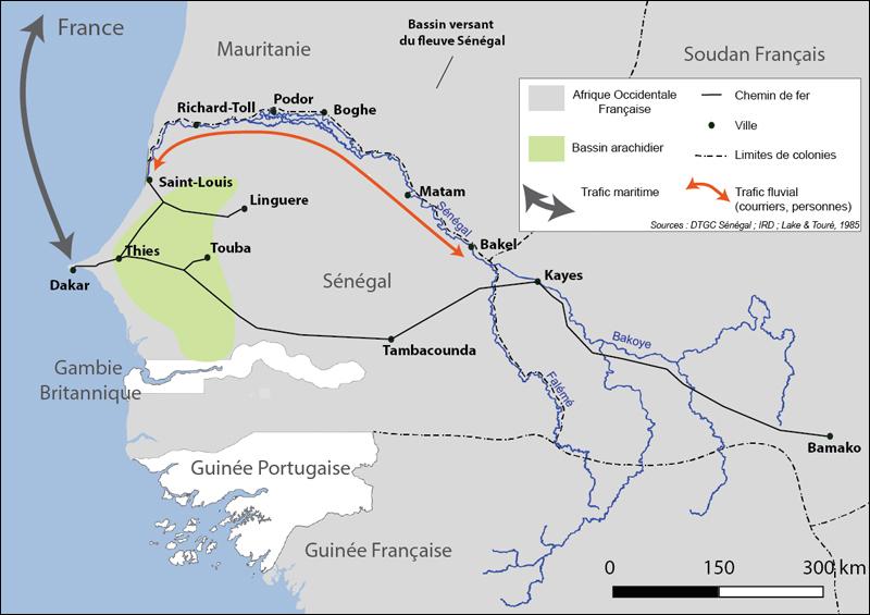 Les Territoires Du Fleuve Une Analyse Par L Image De L Integration Territoriale Du Fleuve Senegal