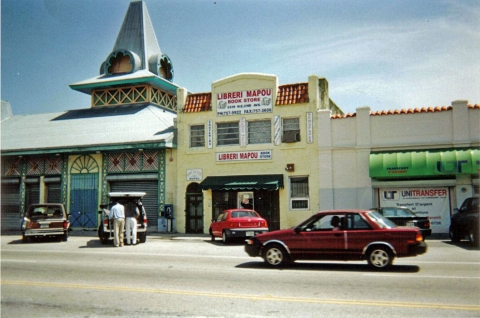 Photo 7 – Le marquage architectural et culturel de Little Haiti et la Librairie Mapou