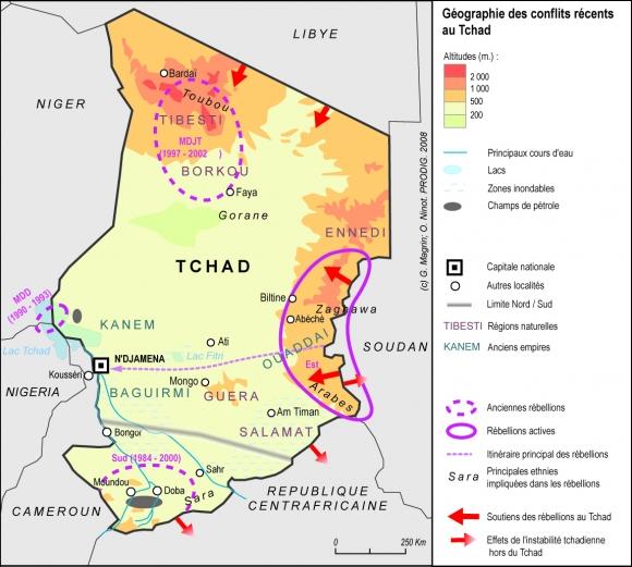 Extrêmement Tchad 2008 IA08