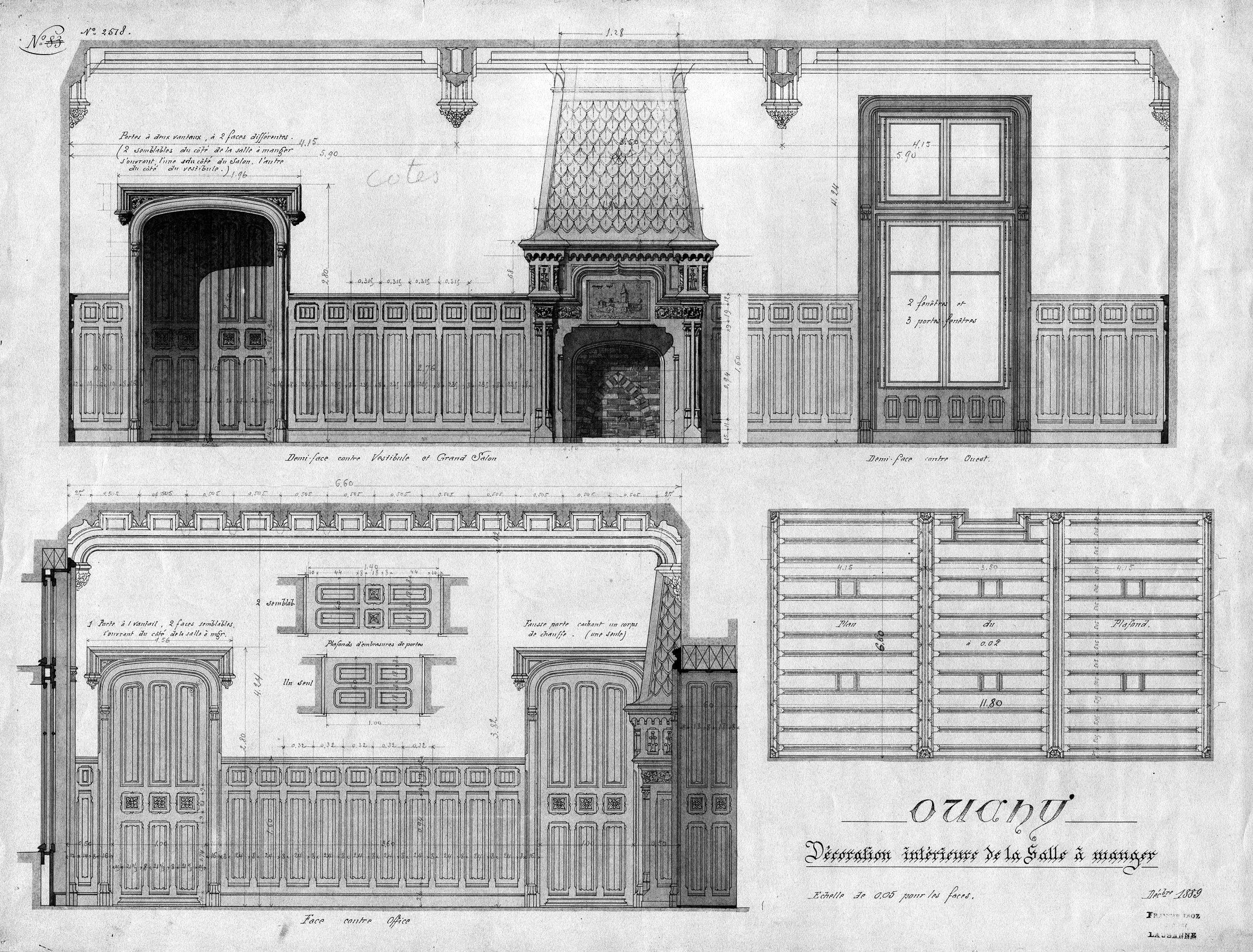 Jean jacques mercier marcel et son architecte francis isoz for La salle a manger de francis jammes