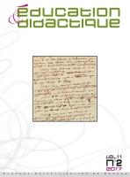 couverture Éducation et didactique 11-2