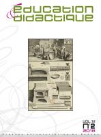 couverture Éducation & didactique 12-2