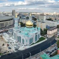 Nouvelle mosquée cathédrale de Moscou.
