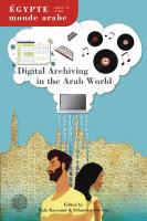Couverture Égypte/Monde arabe