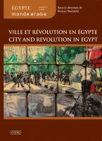 Couverture EMA n° 11 - Ville et révolution en Égypte
