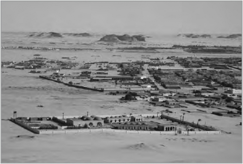 6. Nubian rest house run by the Italian company seen from Jebel Barkal.