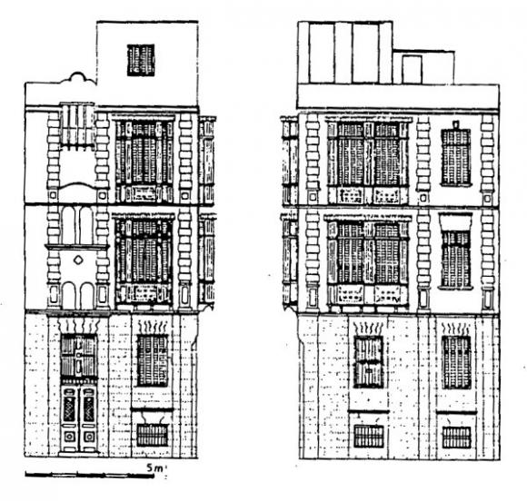 Immeubles Au Caire Et A Istanbul