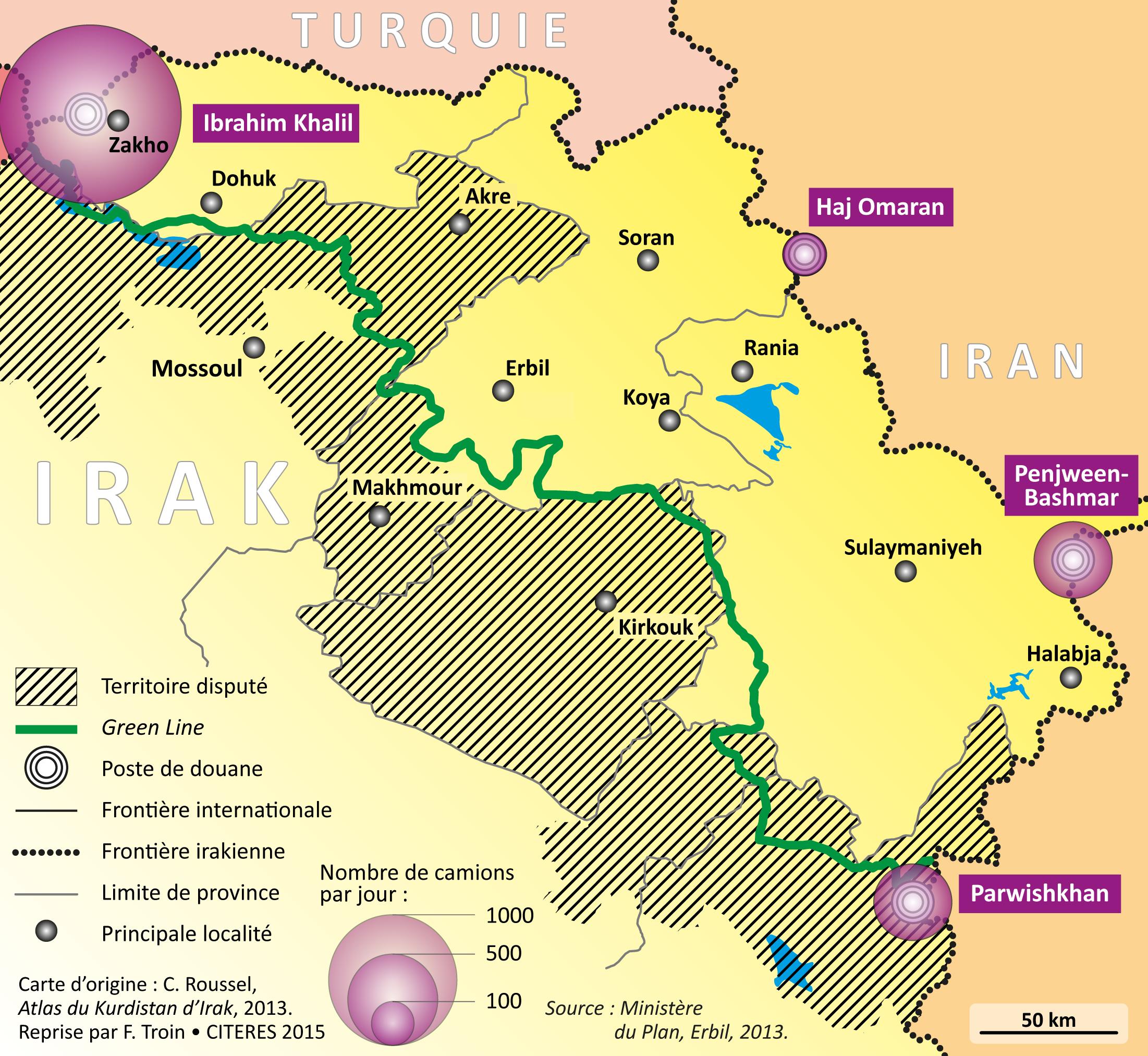 la frontière de la région de Rostov et le territoire de Krasnodar où le casino sera situé