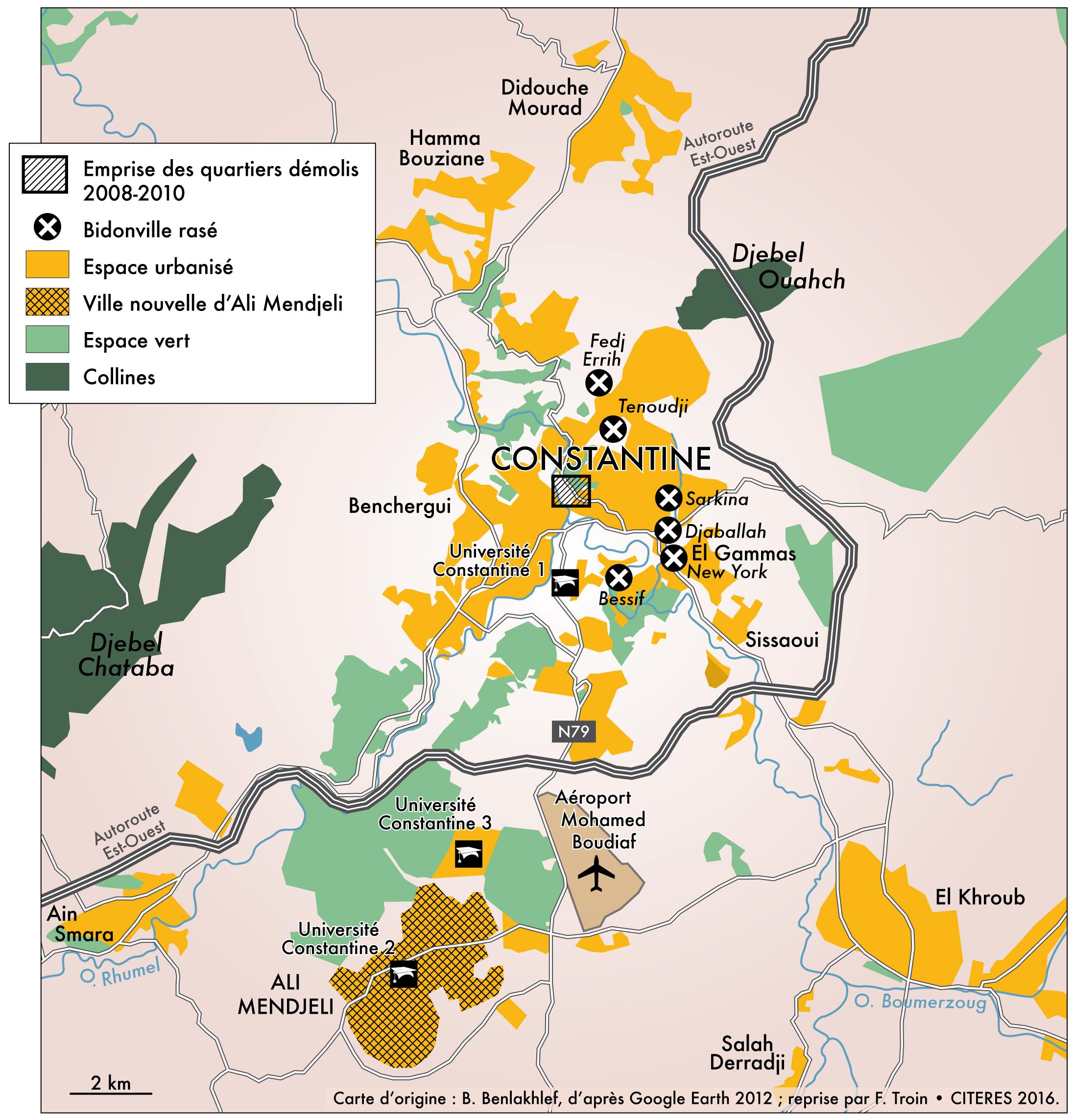 Nouvelle Ville Ali Mendjeli Plan