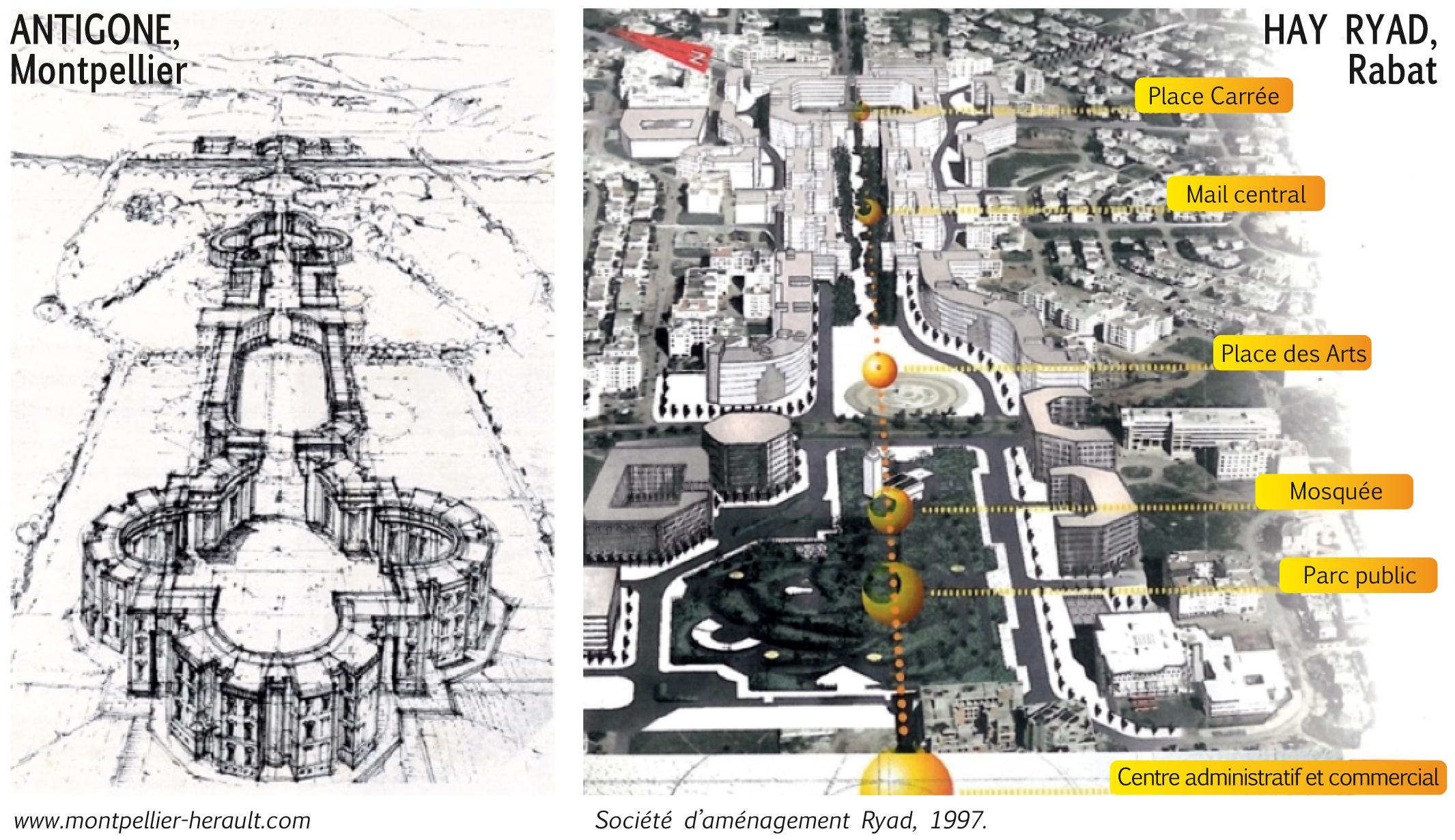 Hay Ryad à Rabat : de la ville nouvelle au quartier ?