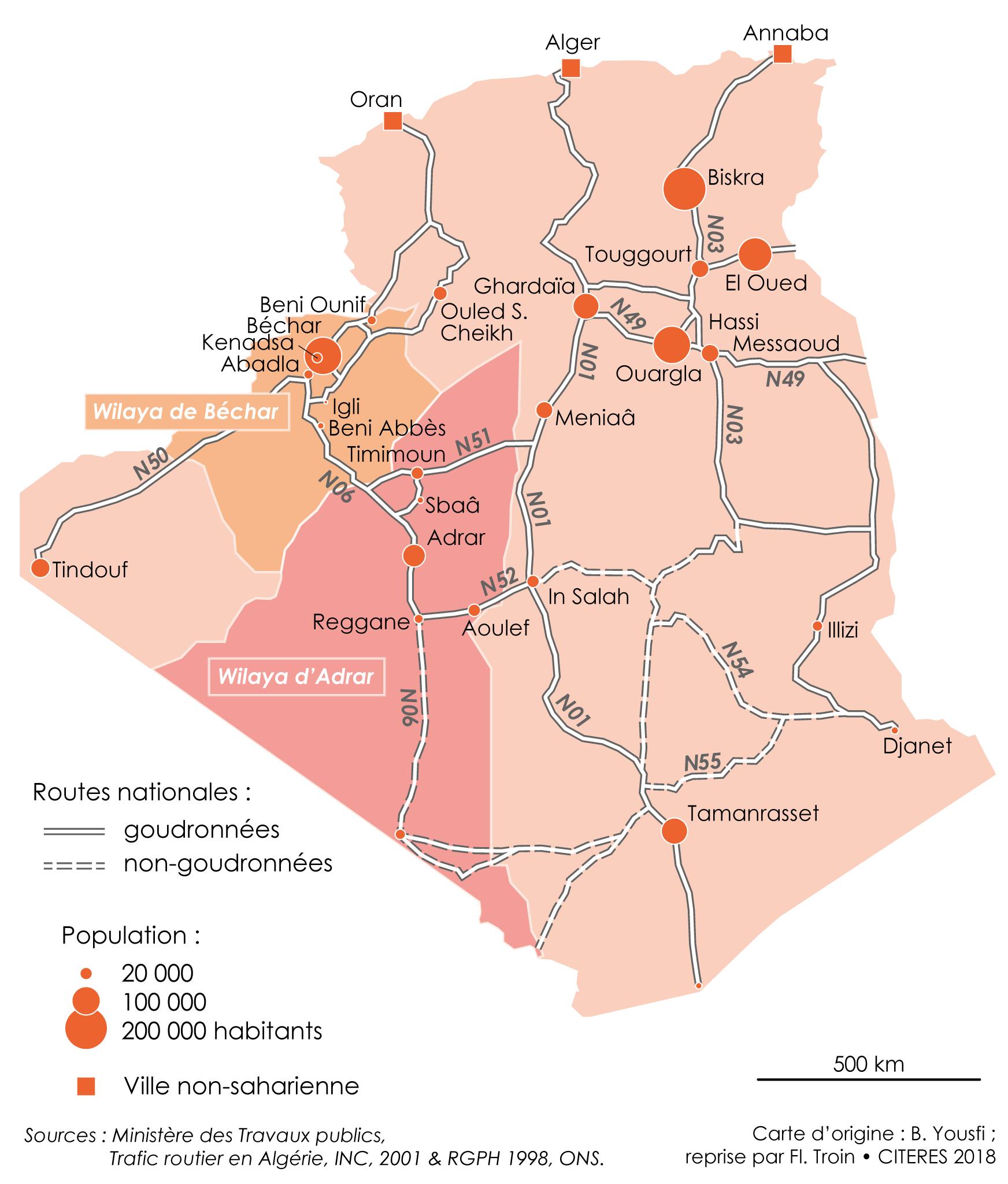 Mobilites Transports Et Echanges Villes Ksour Dans Le Sud Ouest