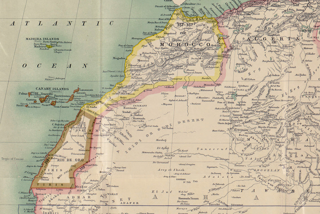 Sahara Occidental: memorias coloniales, miradas postcoloniales