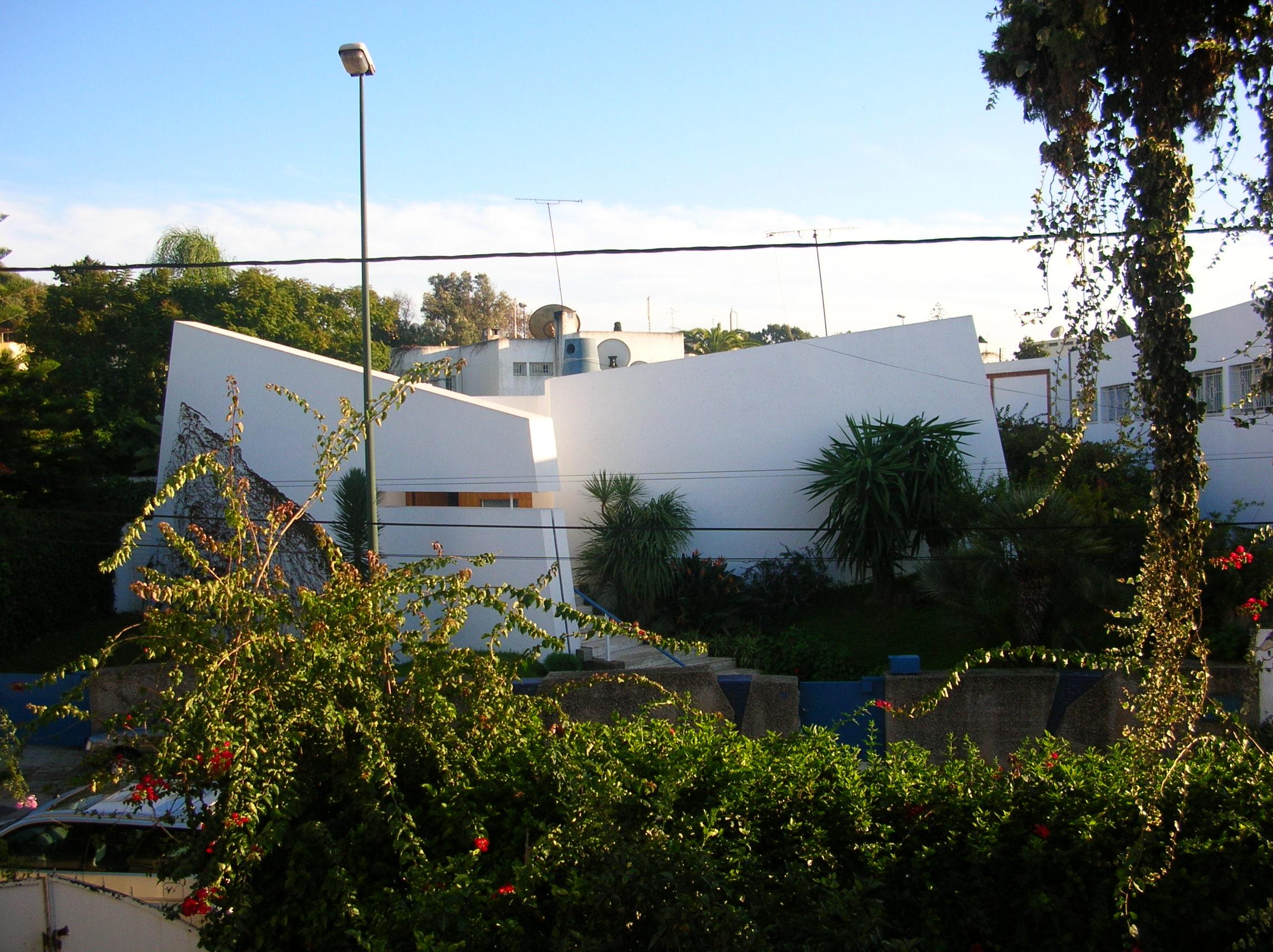 Transferts De Modeles Architecturaux Au Maroc