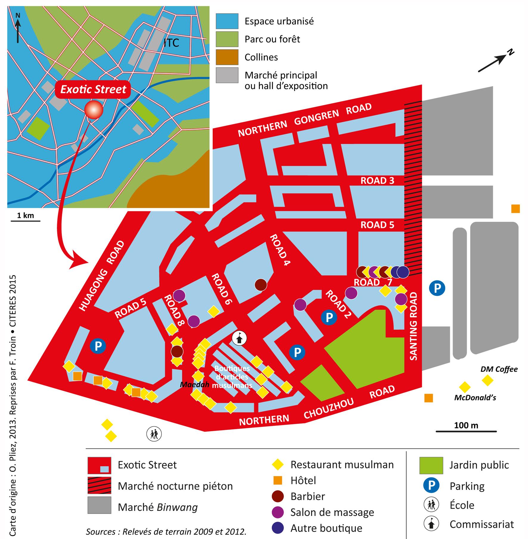Carte Chine Yiwu.Pratiques Transnationales Dans Un Comptoir De La Route De La Soie