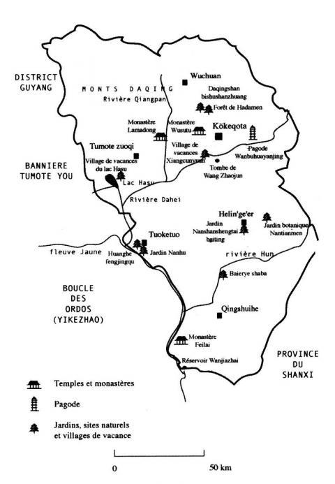 12 Carte Des Principaux Sites Touristiques De La Region Kokeqota