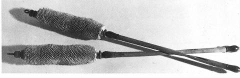 Zuz Bataduris utilitzat en la carderia d'acabat de les Chéchias (Foto S. Ferchiou).