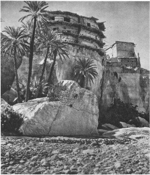 Guelaa de Benian, Aurès (Photo M. Bovis).