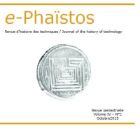 Couverture d'e-Phaïstos, IV-2, octobre 2015