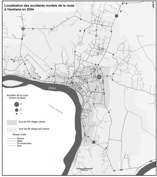 Les Accidents De La Circulation A Vientiane Rdp Lao Un Enjeu De