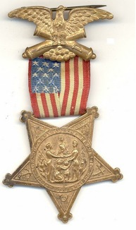 Figure 1 G.A.R. Medal