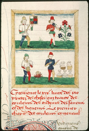 Medical diagnosis and the colour yellow in early modern england miniature au dbut du livre 19 couleur odeur saveur et liquer fandeluxe Gallery