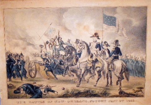 The Battle of New Orleans, Fought January 8th, 1815
