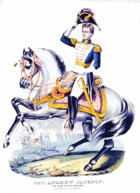 General Andrew Jackson, The Hero of New Orleans
