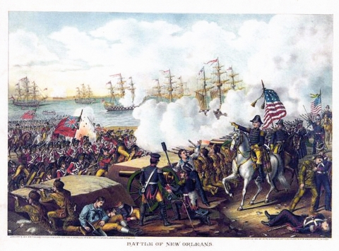 Battle of New Orleans, January 1815