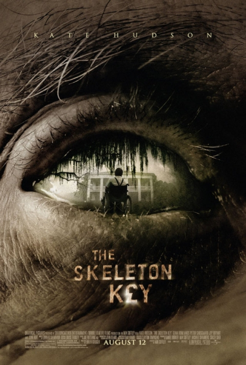 2. Iain Softley's 2005 The Skeleton Key poster: the search for longevity and voodoo possession