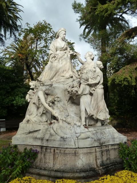 Statue Of Queen Victoria In Cimiez, Nice, 2012