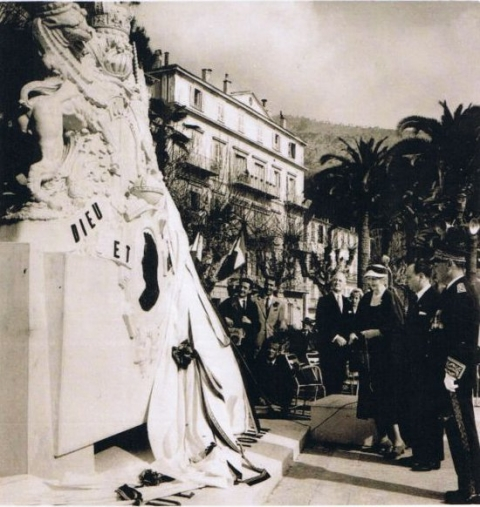 12. Inauguration of the new Menton monument to Queen Victoria, 21 February 1960