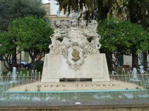 13. The new Menton monument to Queen Victoria, 2012
