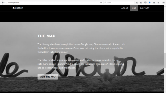 Words in Place: Mapping Australian Literature