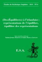 Couverture du n°14 | 2019, (Des)Équilibre(s) à l'irlandaise : représentations de l'équilibre, équilibre des représentations