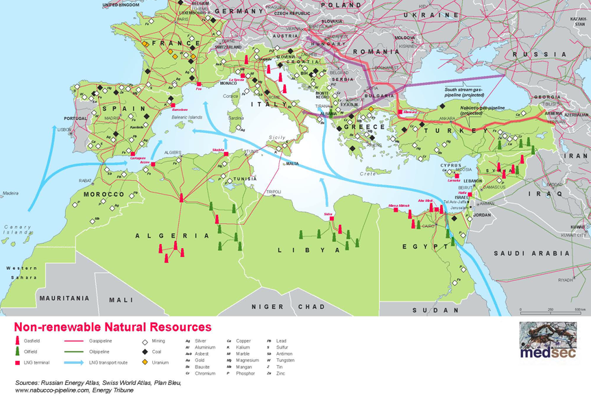 Map Of Germany Natural Resources.Contrasting Regional Environmentalisms In The Eastern Mediterranean