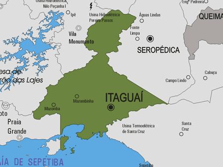 Figura 1: Localização de Itaguaí