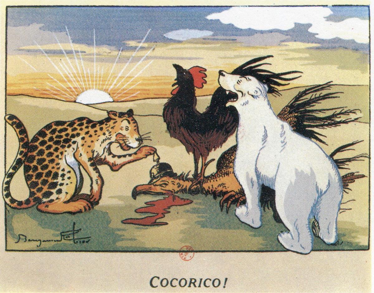 grand culte coq blanc