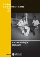 Ethnomusicologie appliquée