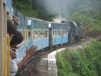 Dans le train bleu, Ooty, Inde du Sud, 2010
