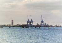De la crise sanitaire à la crise économique, l'avertissement des pêcheurs qui bloquent l'accès du port autonome de Guadeloupe (le 10 juin 2021)